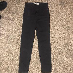 Jamie skinny jeans topshop